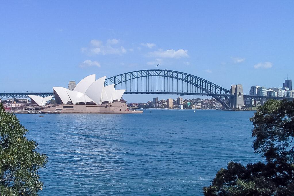 Opera House und Sydney Harbour Bridge (Australien)