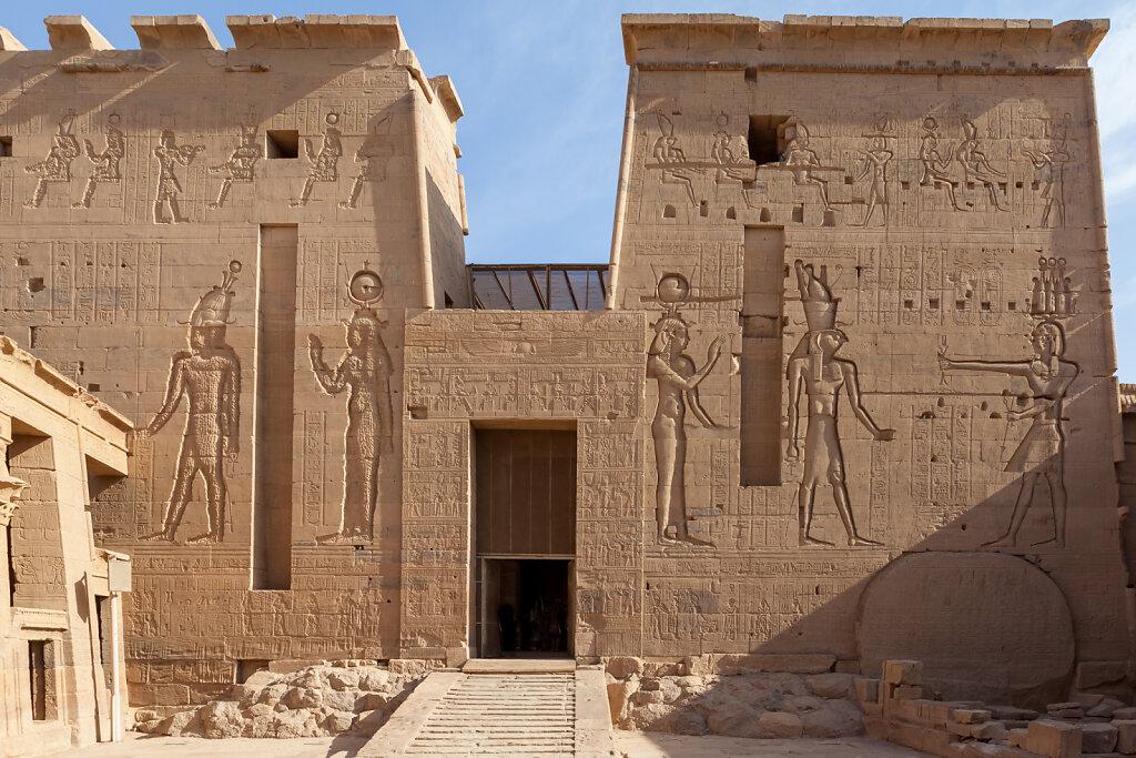 Isis-Tempel von Philae auf der Insel Agilkia