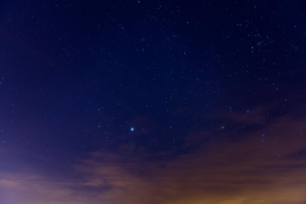 Planet und Sterne