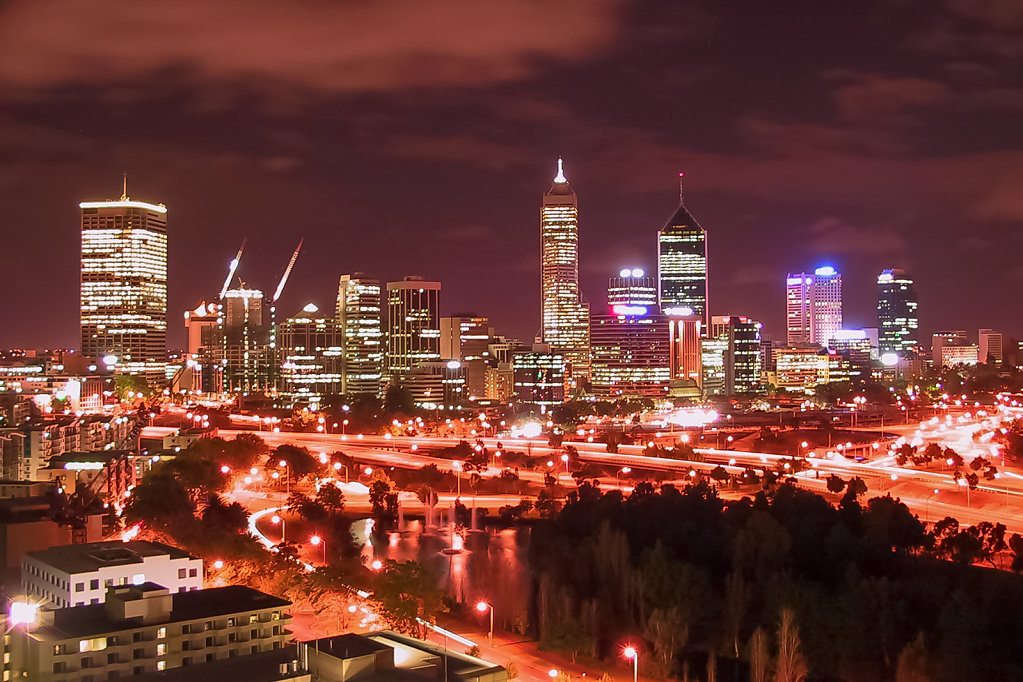 Perth vom Kings Park