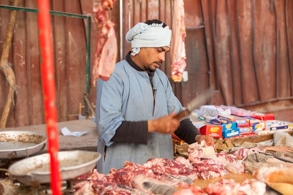 Markttag in Luxor (Ägypten)