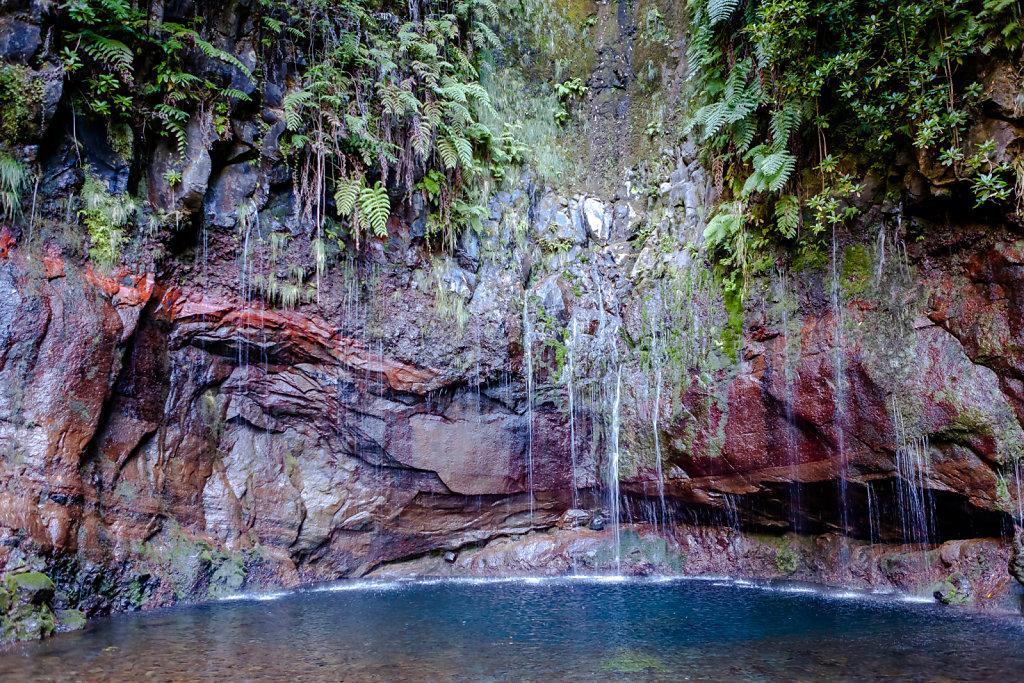 25 Quellen in Rabaçal  (25 sources Rabaçal) Madeira